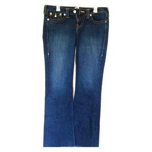 True Religion Becca Bootcut jeans sz 32 EUC